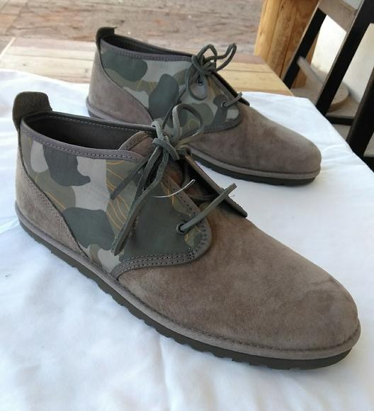 b1e39f7eb7e UGG maksim camo chukka boots